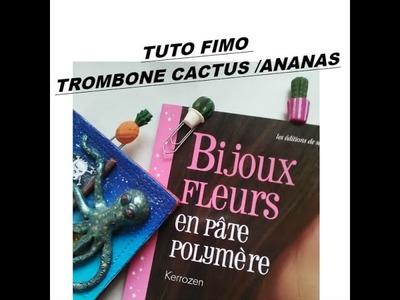 TUTO FIMO POLYMER CLAY CACTUS ANANAS  EXOTIQUE GRAINE CREATIVE