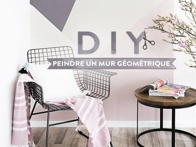 Un mur géométrique - DIY Westwing France