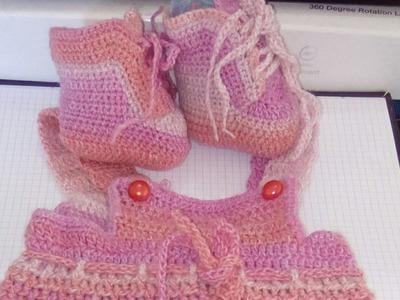 Chaussons bébé au crochet 2-2