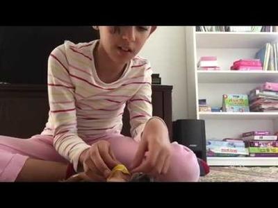 DIY comment faire un maillot de bain pour poupée