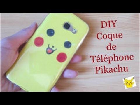 diy coque pour t l phone pikachu pikachu phone case just diy. Black Bedroom Furniture Sets. Home Design Ideas