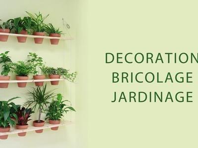 DIY - Jardin vertical avec étagère supendue - système AGRIP