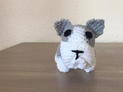 Tuto chien bulldog au crochet