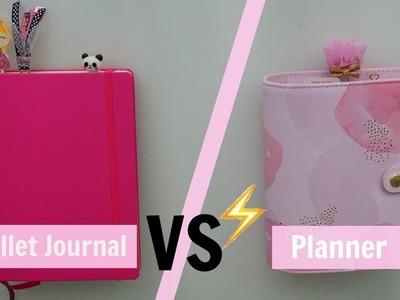Bullet Journal ou Planner ?