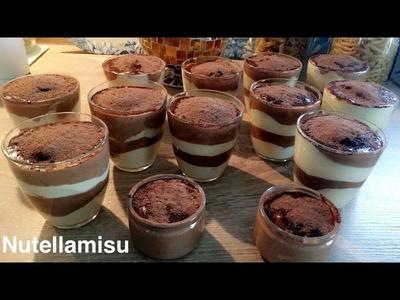 DIY Nutellamisu Tiramisu Nutella