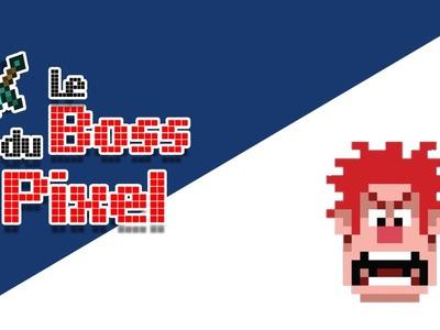 Le Boss du Pixel - Vidéo n°7 - Comment dessiner la tête de Ralph Lacasse