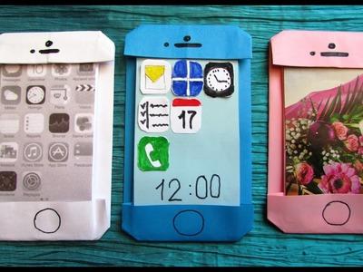 Origami facile : ???? iPhone, smartphone, téléphone portable