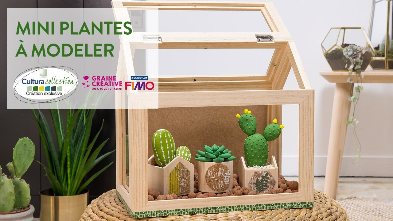 Tuto DIY : Mini plantes à modeler - Green