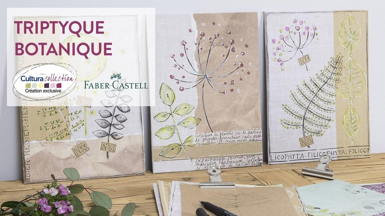 Tuto DIY : Triptyque botanique - Botanique Nature