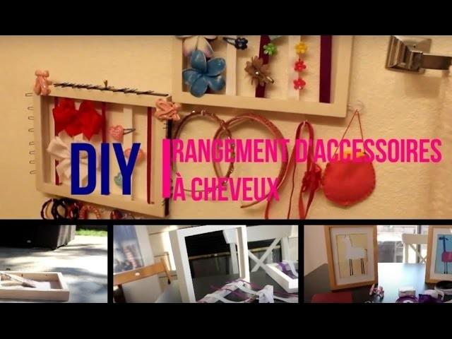 {DIY} Rangement pour accessoires à cheveux