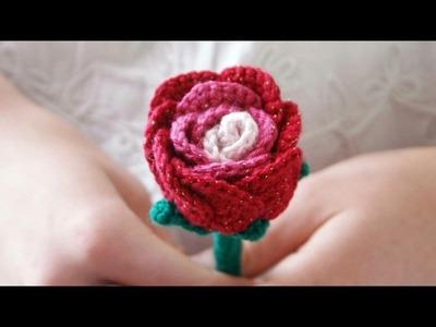 La Rose. Tuto crochet facile français