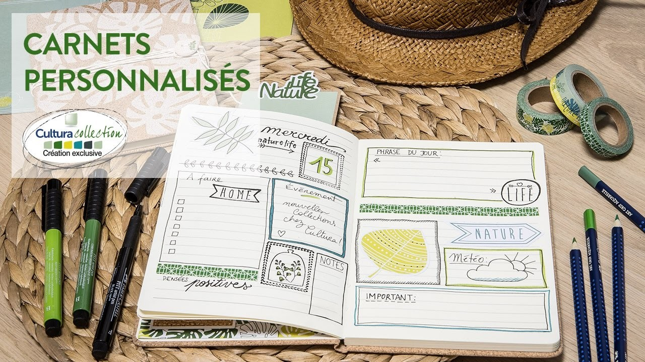Tuto diy carnets personnalis s green my crafts and diy projects - Diy carnet personnalise ...