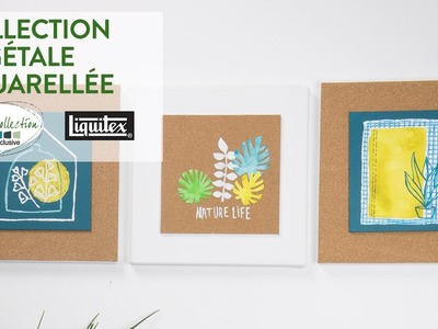 Tuto DIY : Collection végétale aquarellée - Green