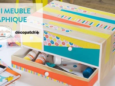 Tuto DIY : Mini meuble graphique - Arty