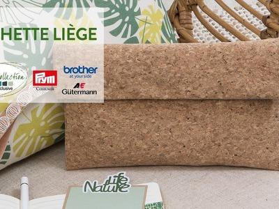 Tuto DIY : Pochette liège - Green