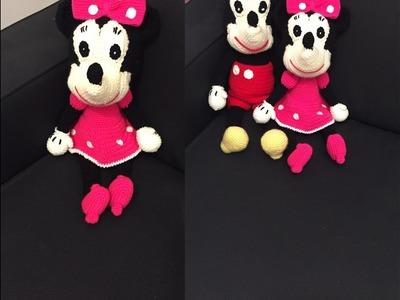 Tuto  Minnie au crochet 2.2