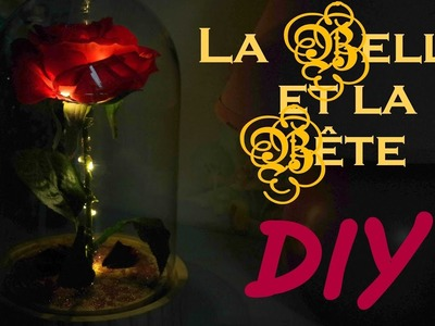 BEAUTY AND THE BEAST DIY : La rose de la bête ! ????