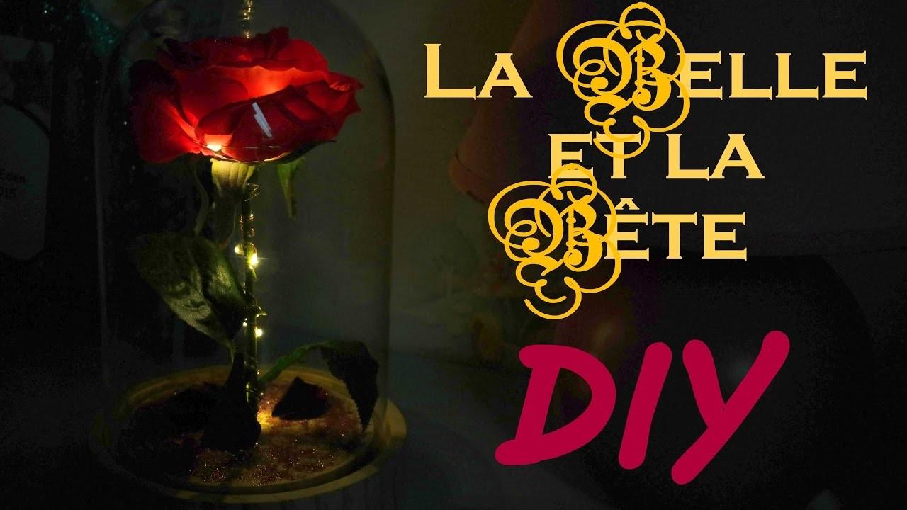 BEAUTY AND THE BEAST DIY : La rose de la bête ! ????