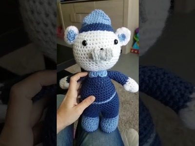 Capitaine Bernacles (Les Octonauts) au crochet (1.3)