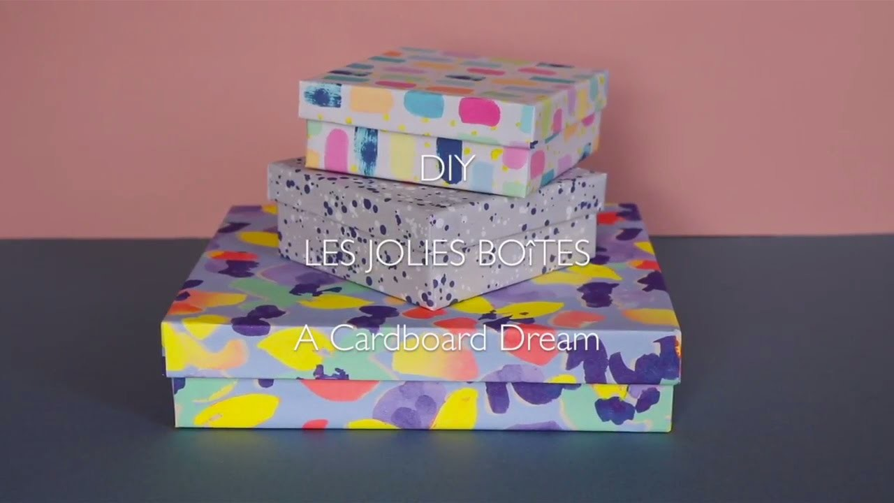 DIY | LES JOLIES BOîTES. CUTE BOXES