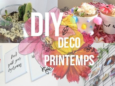 DIY Spring Deco Room. Deco Chambre Printemps ????