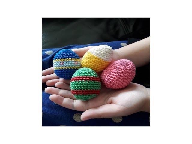 ♫♪ J'avais envie de … Œufs de pâques au crochet ???????? ♫♪