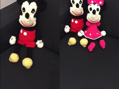 Tuto Mickey au crochet 1.2