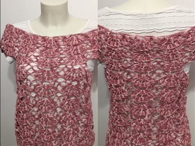 Tuto top, blouse, robe au crochet