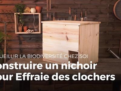 Construire un nichoir pour Effraie des clochers | Fabriquer des abris pour animaux