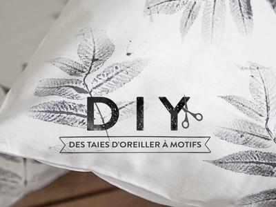 Des taies d'oreiller à motifs - DIY Westwing FRANCE