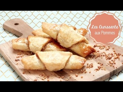 DIY Cuisine ♡ Les Petits Croissants aux Pommes