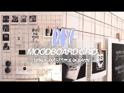 DIY moodboard grid
