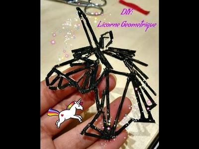 DIY: Réaliser une Licorne géométrique ????