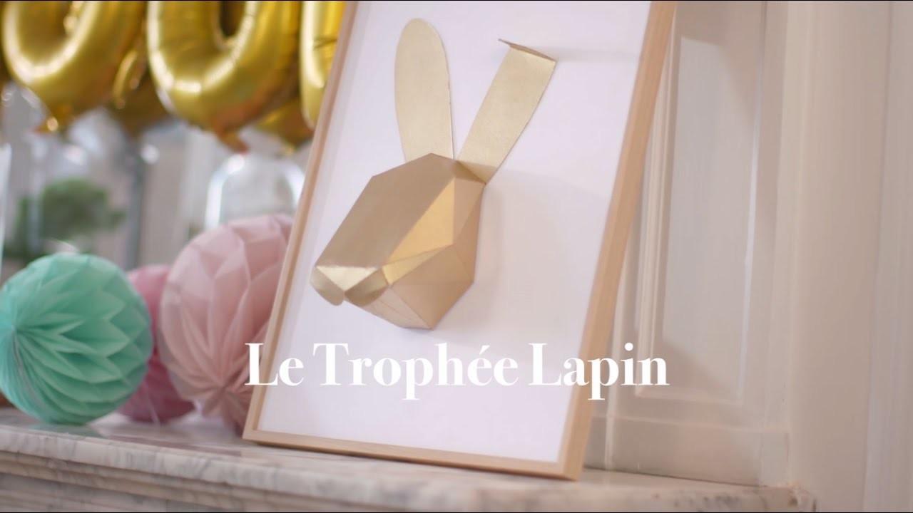 DIY Trophée Lapin - Ferrero Rocher | l'Atelier Des Fêtes
