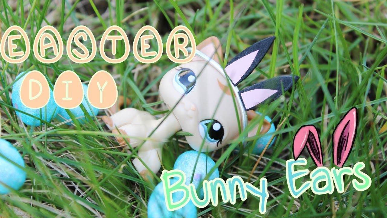 LPS DIY : How to make LPS Bunny Ears ????