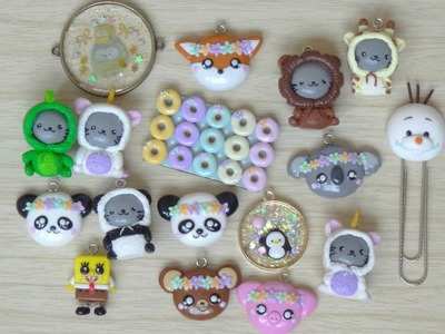 Polymer Clay Charm Update #3