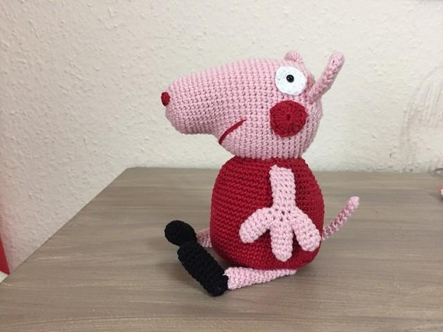 Tuto Peppa Pig au crochet spécial gaucher