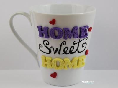 [LPE] Personnaliser une tasse avec de la pâte polymère.