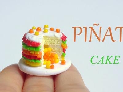[Stop Motion] Polymer Clay Pinata Cake Tutorial. Tutoriel Fimo