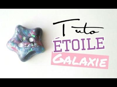 [Tuto FIMO] Etoile kawaii - Effet galaxie (facile)