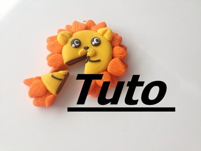 Tuto Fimo- Gâteau lion