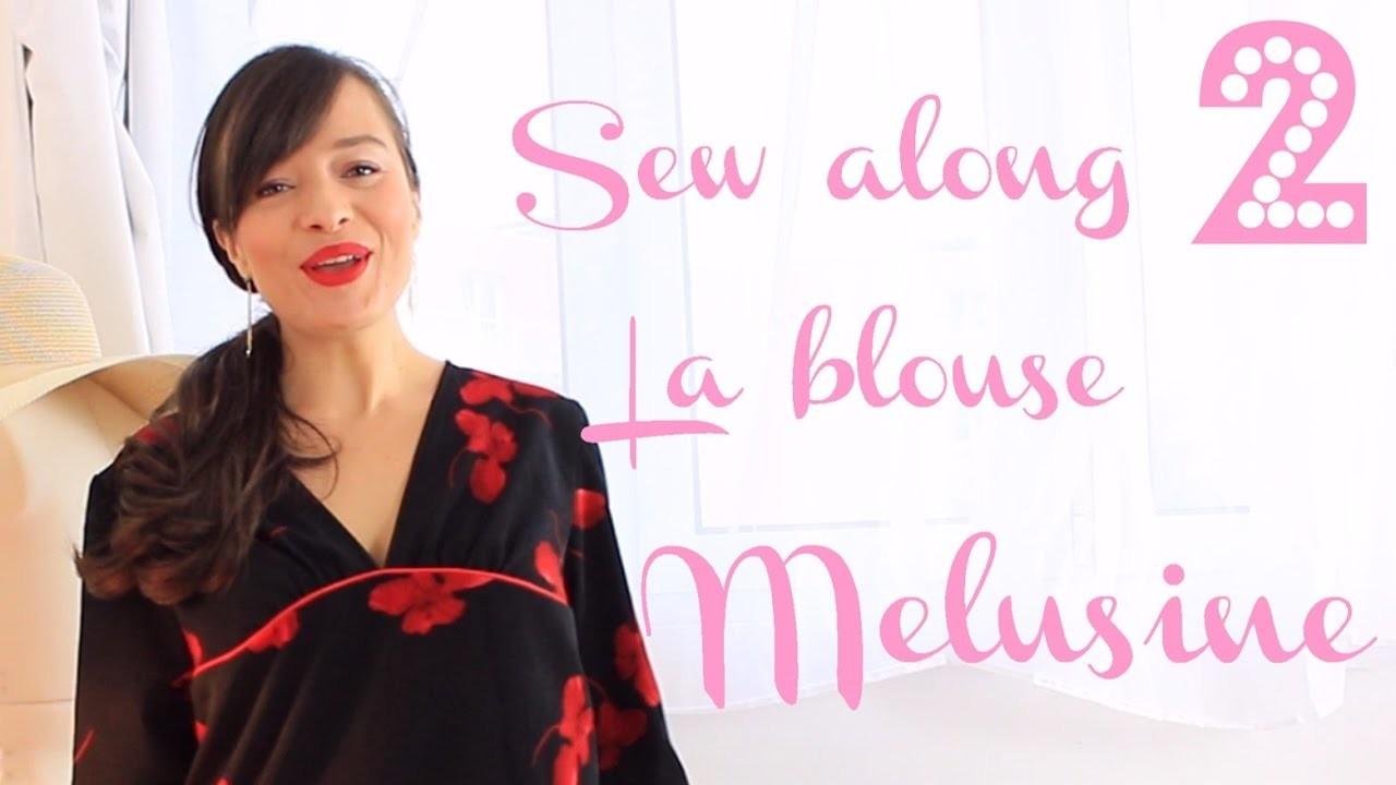 Tutoriel couture: coudre la blouse Melusine 2.2