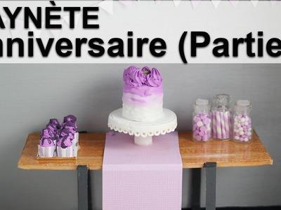 Saynète Anniversaire: Cupcakes et Fioles de Bonbons