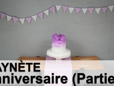 Saynète Anniversaire: Gâteau et Décoration