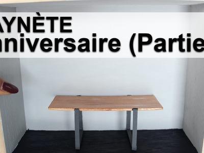 Saynète Anniversaire: Peinture et Table
