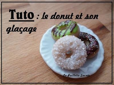 TUTO Fimo : le donut et son nappage