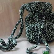 Petit sac duo des verts